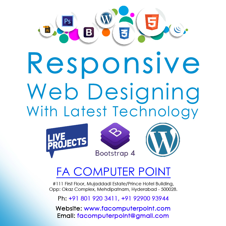 Learn web designing in hyderabad